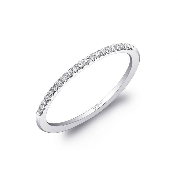 Coast WC5410 thin diamond wedding band