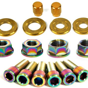 Salt BMX Nut & Bolt Hardware Kit