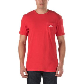 3bba536e9a9 vans t shirt red sale   OFF39% Discounts