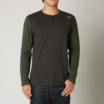 Fox Head Binder LS Knit Tee