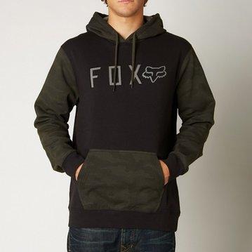 Fox Head Burnout Pullover Fleece