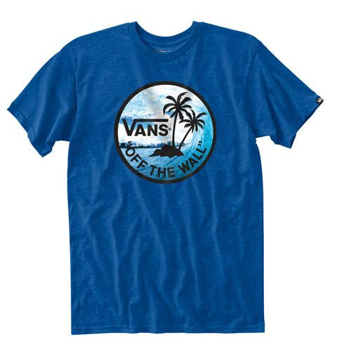 Vans Boys Dual Palm Photo Fill Tee