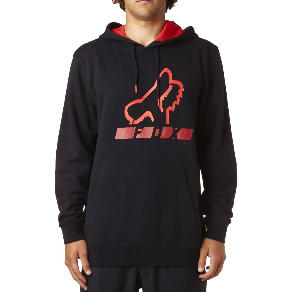 Fox Head Triangulate Pullover Fleece