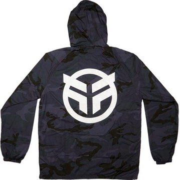 Federal Logo Hooded Windbreaker
