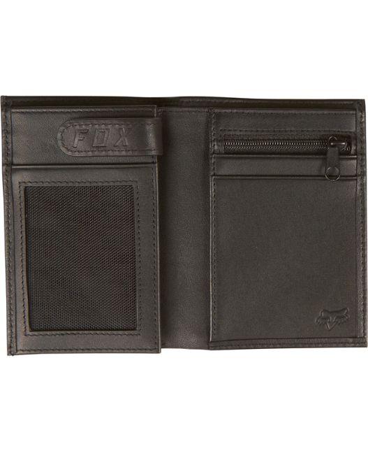 Fox Head Silencer Leather Wallet