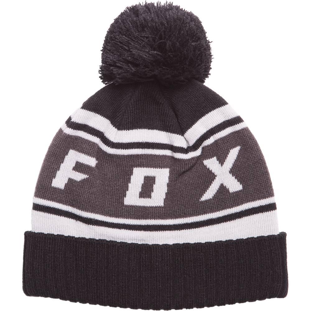 Fox Head Black Diamond Pom Beanie