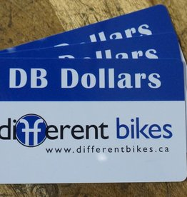 Different Bikes Gift Card