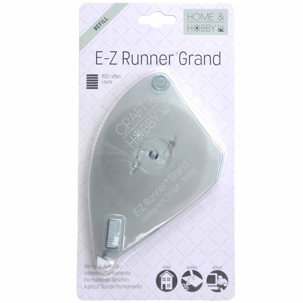 Scrapbook Adhesives by 3L E-Z Runner Grand Refill Permanent 150'