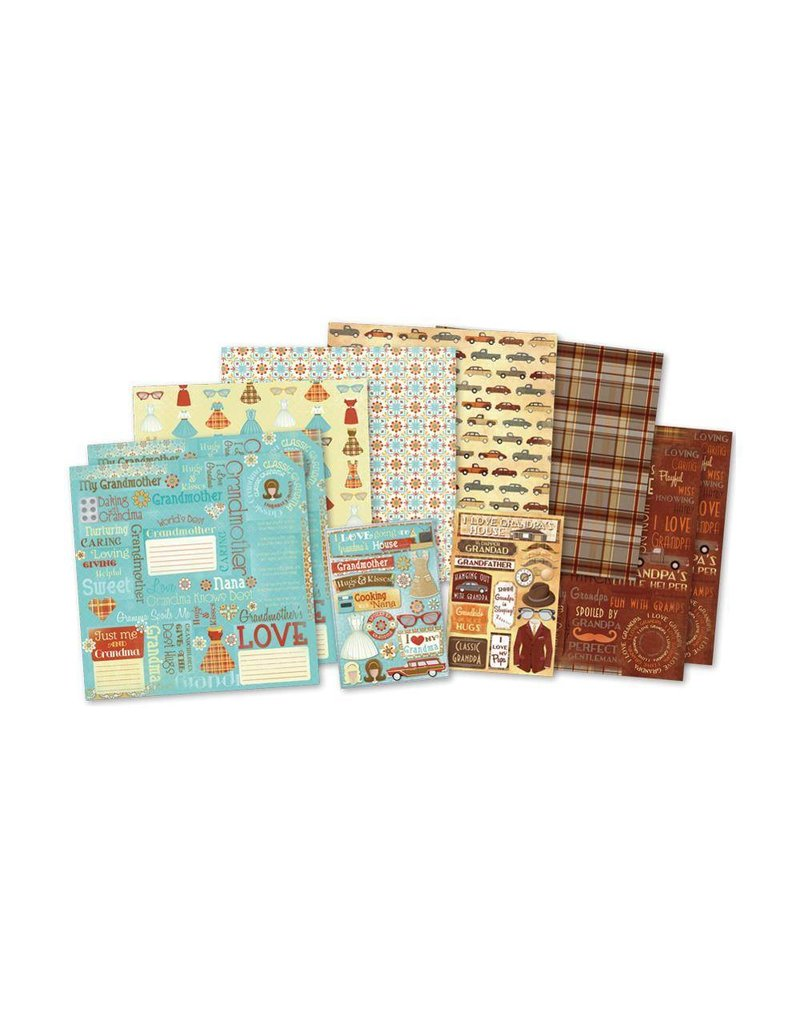 Karen Foster Classic Grandparents Kit