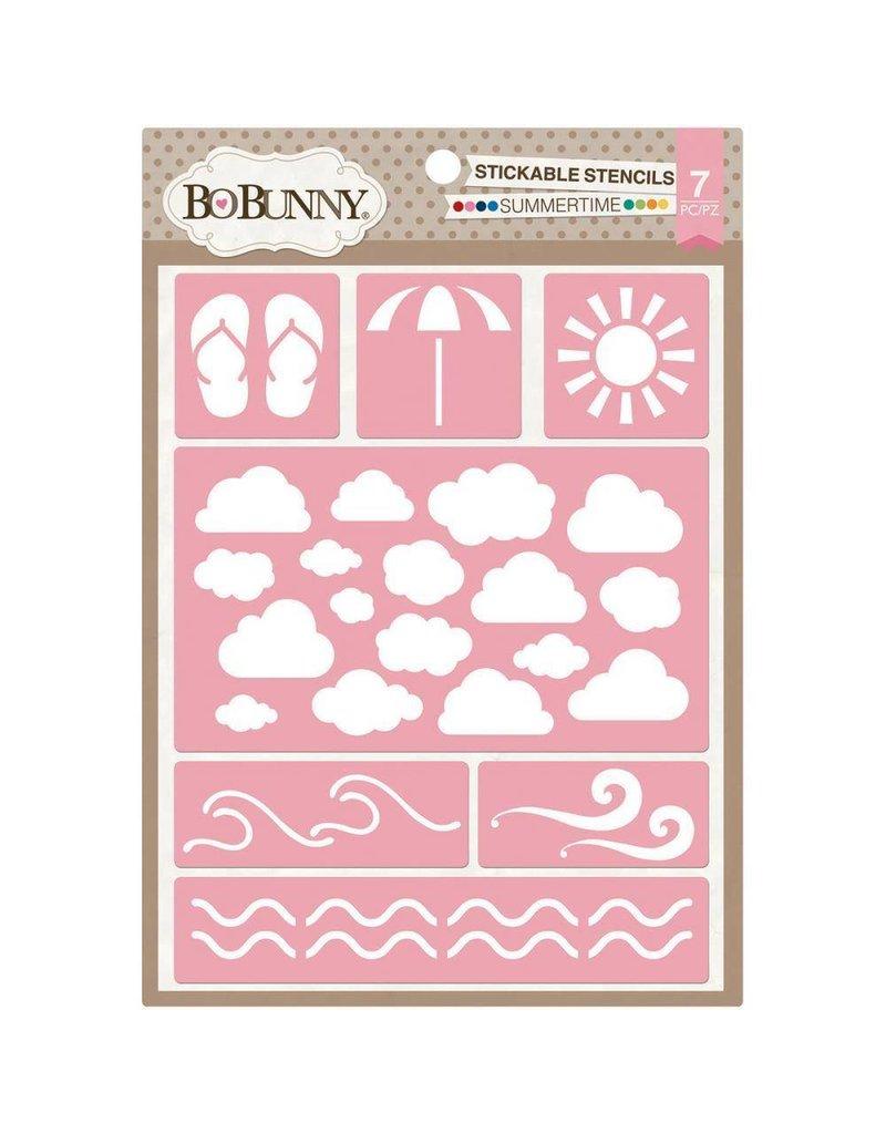 Bo Bunny Summertime stencil