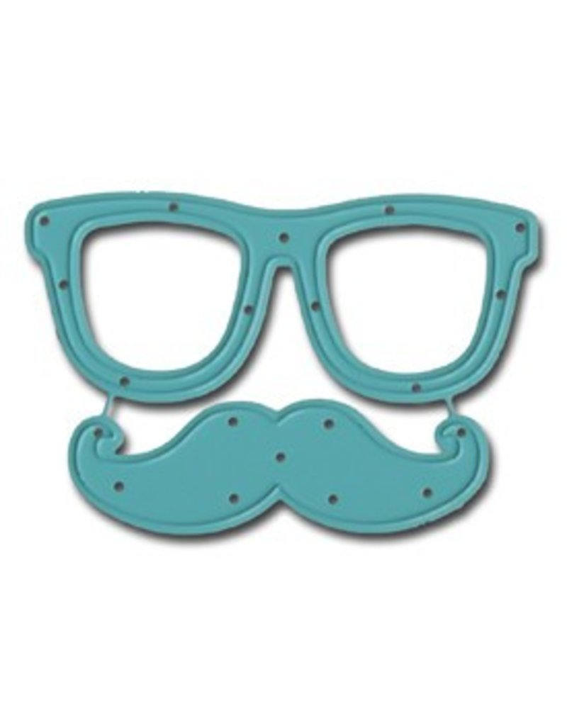 Maya Road Glasses and Stache