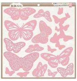 Bo Bunny Butterfly Stencil