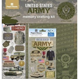 Paper House Productions Military Scrapbook Kits
