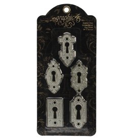 Graphic 45 Ornate Metal Key Holes