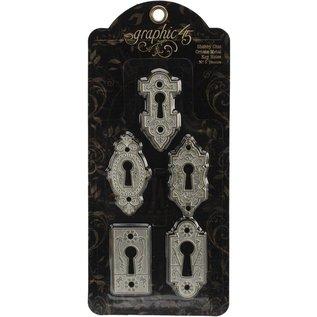 Graphic 45 Ornate Metal Key Holes