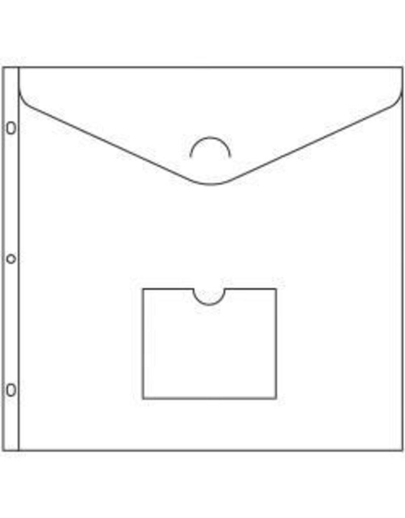 "American Crafts 12"" Ring Keepsake Pockets"