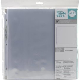 "American Crafts 12"" Ring Page Protectors"