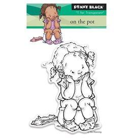 Penny Black On the Pot