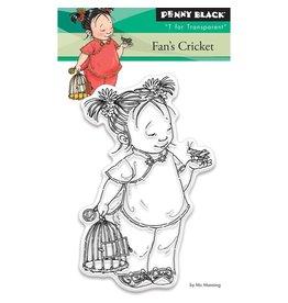 Penny Black Fan's Cricket