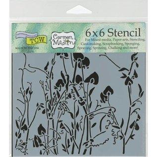 """The Crafter's Workshop Stencils 6"""""""
