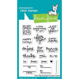 Lawn Fawn Tiny Tags Sayings