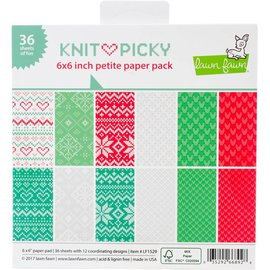 Lawn Fawn Knit Picky Paper Pack