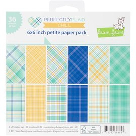 Lawn Fawn Perfectly Plaid Pad - Chill