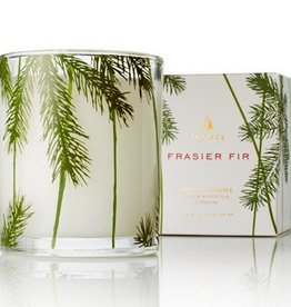 Frasier Fir Poured Candle-Pine Needle Design