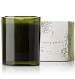 Frasier Fir Poured Candle- Green Glass