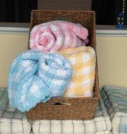 "Sleepytime Rose Baby Blanket 30x40"""