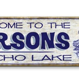 Cabin Sign 10x36  Wood
