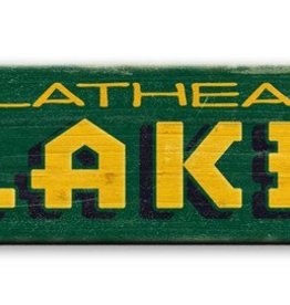 Green Lake Arrow Right  Wood  10x36