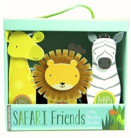 Blocky Books: Safari Friends