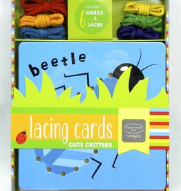 Lacing Cards: Cute Critters