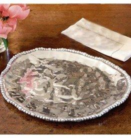 Organic Pearl Nova Triangle Platter-Large