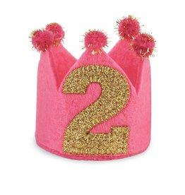 Toddler Girl I'm 2 Birthday Crown