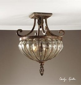Galeana 2 Lt Semi Flush Mount