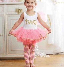 """Toddler Girl """"IM 2"""" Tunic & Legging Set 2 Years"""