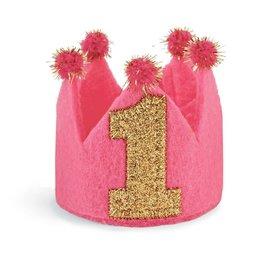 Toddler Girl I'm 1 Birthday Crown