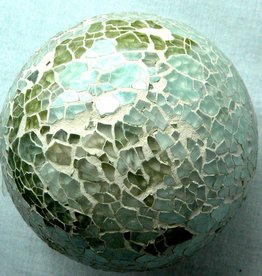 Mosaic Glass Decorative Ball Decor