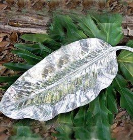 Garden Zebra Leaf Platter (lg)