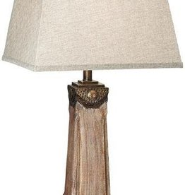 Sierra Grande Faux Wood Table Lamp