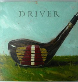 14x14 Inch Gallery-Wrapped Giclee Driver