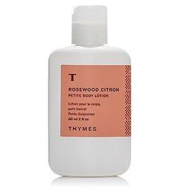 Rosewood Citron 2oz. Body Lotion