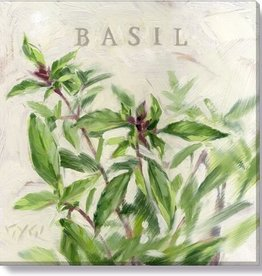 14x14 Inch Gallery-Wrapped Basil