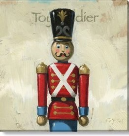 14x14 Inch Gallery-Wrapped Toy Soldier