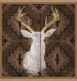 Precious Antlers II 18x18