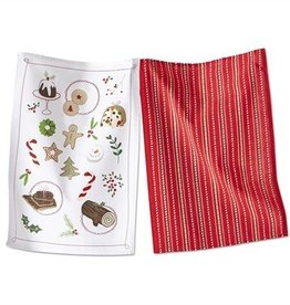 Winter Whimsy Baking Dish Towels s/2