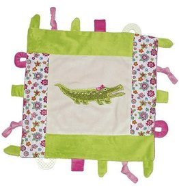 Allie the Alligator Multifunction Blankie