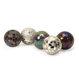 Abbot Mosaic Deco Balls- Set of 5